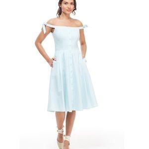 Gal Meets Glam Dora Off the Shoulder Dress
